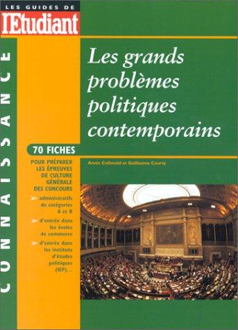 Les grands problèmes politiques contemporains par Guillaume Courty, Annie Collovald