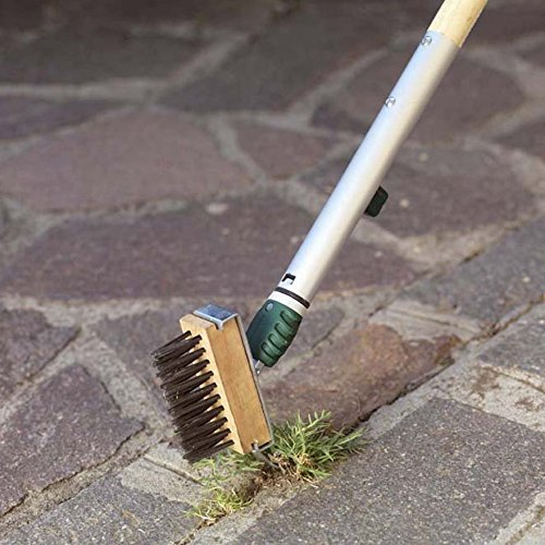 Binette-avec-manche-et-brosse-mauvaises-herbes-herbe-Verdemax