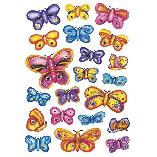 Preisvergleich Produktbild Herma Sticker Decor Schmetterlinge