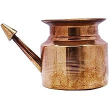 Neti Lota Ramjhara Oración Kalash de cobre puro tradicional hindú Pooja artículo Pot