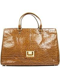 Adolfo Dominguez - Bolso para mujer, color marrón