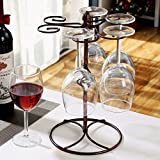 Generic Fashion Wine Glass Rack Home Decoration Modern Living Room Wine Glasses Holder Champagne Stemware Hanging Stand