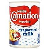 Carnation Nestlé Topping Evaporato Latte 410g (Confezione da 2)
