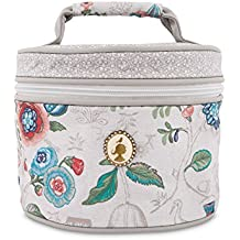Pip Studio Spring To Life Beauty Case,, White, Ø 18 x 13 cm
