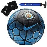 #8: Larjonna Nike FCB replica blue/white Football. Size-5