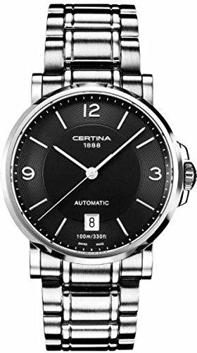 Certina Herren-Armbanduhr XL Analog Automatik Edelstahl C017.407.11.057.00