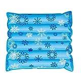 #9: RK Enterprise Summer Ice Mat Cushion Mattress Waterproof Cooling Water Seat Chair Cool Bag mats, car Water seat