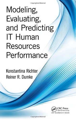 Modeling, Evaluating, and Predicting IT Human Resources Performance por Konstantina Richter