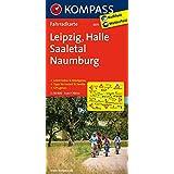 Leipzig - Halle - Saaletal - Naumburg: Fahrradkarte. GPS-genau. 1:70000 (KOMPASS-Fahrradkarten Deutschland, Band 3075)