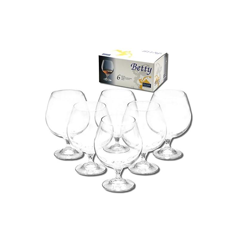 6x Cognacglas Aus Kristallglas 400ml Groe Cognacglser Brandyglas Brandyglser Cognacschwenker