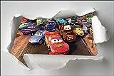 Sticker Kinder Torn Paper Cars OEM 7611, 120x80cm