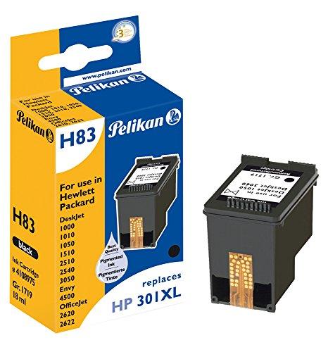 Pelikan Druckerpatrone H83 ersetzt HP CH563EE, Schwarz