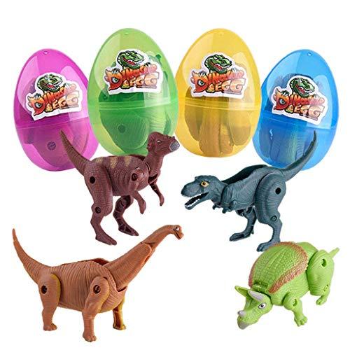❤️ Vovotrade Squishies Kawaii 4Pcs Oeuf Dinosaure Super Lente Rising CrèMe Parfum De Soulagement du Stress Jouet Oeuf de Dinosaure
