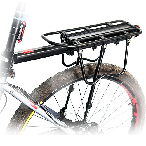 Bike Cycling Sport Rear Carrier Rack Seat Bicycle Disc...