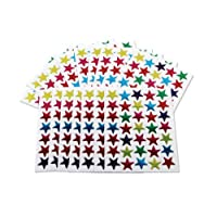 Kids B Crafty 700 Coloured Stars Stickers