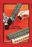 Toblerone schokolade zartbitter reklame metal sign, retro, schild aus blech