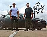 Limitierte Ausgabe: Fotografie signiert von Vin Diesel und Paul Walker. Zertifizierter Autogramm-Druck