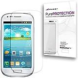Pure² PurePROTECTION 6x Displayschutzfolie für Samsung I8190 Galaxy S3 mini kratzfest, klar und unsichtbar im Blister. CrystalClear. 6x Schutzfolie im BIG PACK