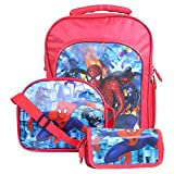 #6: Best shop School Bags combo backpack Red colour for Boys
