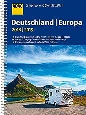ADAC Camping- und Stellplatzatlas Deutschland/Europa 2018/2019 (ADAC Atlanten)