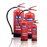 Commander Edge Pulverfeuerlöscher, ABC, 1kg Dry Powder Fire Extinguisher