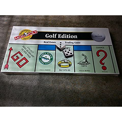 The GOLF EDITION of the MONOPOLY Game by Hasbro, Inc.