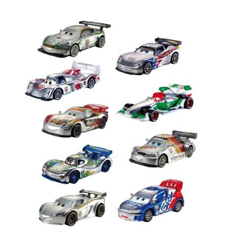 Mattel Disney/Pixar Cars Die-cast Silber Racer, Serie Sortiment - Lieferumfang: 1 Stück aus dem abgebildeten Sortiment.