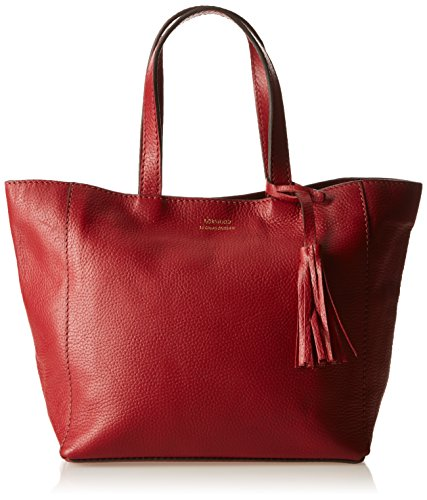 Loxwood Cabas Parisien Pm Graine, Borsa tote donna , Rosso (Rouge (Ireland)), Taille Unique