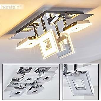 led deckenspot krakau aus gl nzendem chrom deckenstrahler 4 flammig mit verstellbaren. Black Bedroom Furniture Sets. Home Design Ideas