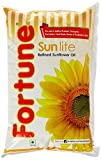 #4: Fortune Sunlite Refined Sunflower Oil, 1L
