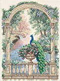 Dimensions D35110 | Majestic Peacock Picture Counted Cross Stitch Kit 30 x 41cm