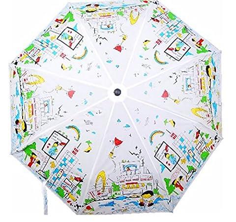 Ananth Crafts ACCC_WATER, Parapluie pliants blanc blanc