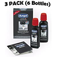 Durgol swiss 0291 espresso decalcifier 3 Pack (6 Bottles) LOW SHIPPING