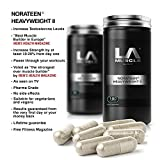 LA Muscle Norateen Heavyweight II- Award Winning Testosterone Booster. As Seen on TV. Natural Muscle and Strength Builder, Increase Power and Definition Fast, Increase Muscle Size Fast, Immediate Increase in Strength. Lifetime Money Back Guarantee, Risk Free Purchase