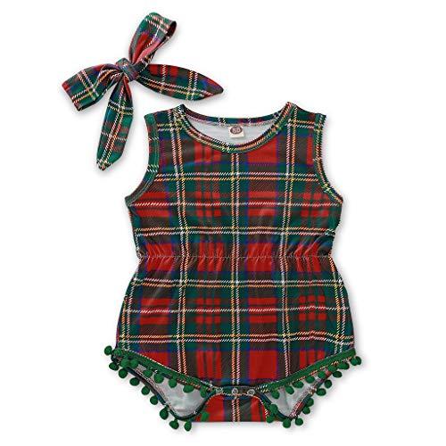4 Die Spieler Kostüm Pack - SomeTeam Neugeborenes Baby Weihnachten Streifen Quaste