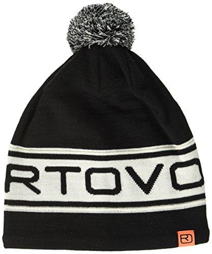 Ortovox Logo Band Beanie, Black Raven, One Size