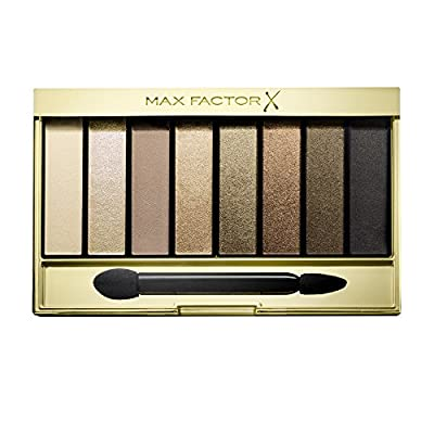 Max Factor Masterpiece Nude Palette Contouring Eye Shadows Number 01, Cappuccino Nudes 6.5 g