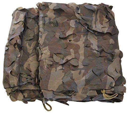 6x3 m Tarnnetz camouflage in Farbe oliv-grün - Bundeswehr Jagd Outdoor Army BW Camping - original Inet-Trades GmbH Produkt