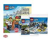 LEGO® City™. Meine Freunde (Gebundenes Buch) + 1 City Spiel-Beutel