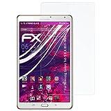 atFolix Kunststoffglas Folie für Samsung Galaxy Tab S 8.4 (WiFi Model) Glasfolie - FX-Hybrid-Glass elastische 9H Kunststoff Panzerglasfolie - Besser als Echtglas Panzerfolie