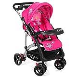 Kinderwagen RANGER S4 Froggy Buggy City Jogger Sportwagen Babywagen Sitzbuggy Liegebuggy 5-Punkt Sicherheitsgurt Pink