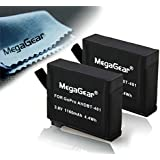 Megagear MG416 Batterie pour GoPro AHDBT-401, GoPro HERO 4 (Noir)
