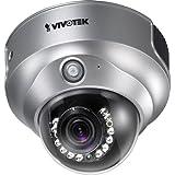 Vivotek FD8161 Caméra réseau fixe Jour/Nuit (2 Mpx, objectif Vario 3-9 mm avec Auto-Iris, rayon infrarouge jusqu'à 15 m, alimentation Ethernet, triple Codec H.264/ MPEG4/MJPEG)