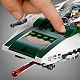 LEGO 75248 Star Wars Resistance A-Wing Starfighter Battle Starship Building Set, The Rise of Skywalker Movie Collection, Multicolour