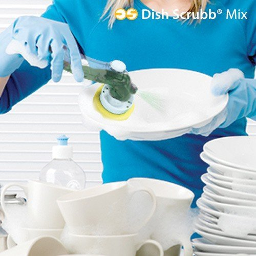 Spülset Reinigungsset 5-teilig Spülen Spülbürste Spülschwamm Bürste Schwamm