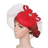 LYQ Hat Accessori per capelli da cerimonia nuziale del cappello di  Fascinator della piuma dell  2faa66c227c8