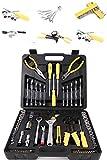 Werkzeugkoffer mit Werkzeug Set - Werkzeugsortiment 126 teilig von