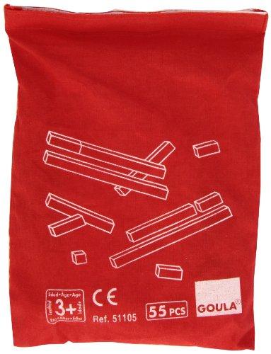 Goula- Counting Rods + Bag Regletas en Bolsa, Juego...