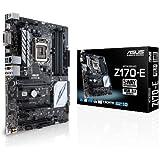 Asus Z170-E Mainboard Sockel 1151 (ATX, Intel Z170, 4x DIMM, 6x SATA 6Gb/s, 1x SATA Express, M.2 Schnittstelle)