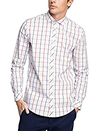 ESPRIT Collection Herren Businesshemd 046eo2f013-mit Großem Karomuster